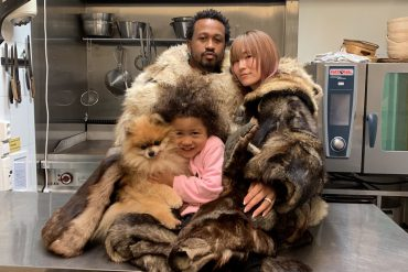 Chef Malcolm Livingston II and family